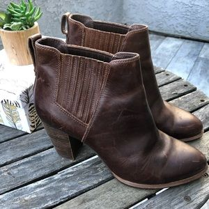 UGG Cowboy Ankle Booties